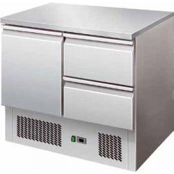Saladette refrigerata statica capacità 240 lt temperatura +2° +8°C Forcar mod. S901-2D