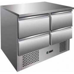 Saladette refrigerata statica capacità 240 lt temperatura +2° +8°C Forcar mod. S901-4D