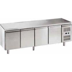 Tavolo refrigerato gastronomia ventilato FORCOLD G-GN4100TN-FC