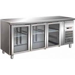 Tavolo refrigerato gastronomia gn 1/1 ventilato Forcar G-GN3100TNG