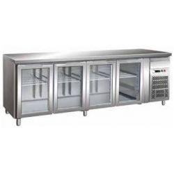 Tavolo refrigerato gastronomia gn 1/1 ventilato Forcar G-GN4100TNG