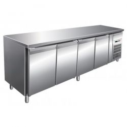 Tavolo refrigerato gastronomia snack ventilato Forcar G-SNACK4100TN