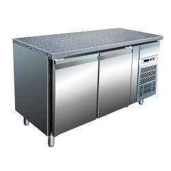 Tavolo refrigerato per pasticceria ventilato Forcar G-PA1500TNGR7