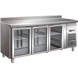 Tavolo refrigerato gastronomia gn 1/1 ventilato Forcar G-GN3200TNG