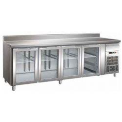 Tavolo refrigerato gastronomia gn 1/1 ventilato Forcar G-GN4200TNG