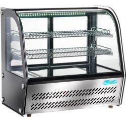 Espositore refrigerato con vetro curvo ventilato Forcar G-VPR100