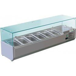 Vetrina refrigerata statica Forcar G-RI14033V