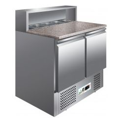 Saladette refrigerata statica capacità n.5 gn1/6 Forcar mod. PS900