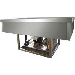Vasca inox refrigerata da incasso Forcar VRI411F